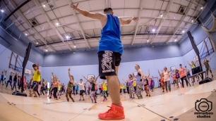 Berni Zumba 30 09 2018 Hender Masterclass : (Photo by Nick Guise-Smith / MirrorBoxStudios)
