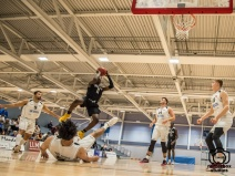 Solent Kestrels v Crusaders 29 09 2018 NBL Nat. Trophy : (Photo by Nick Guise-Smith / MirrorBoxStudios)