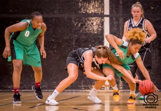 Kestrels v Southbank Thunder 06 10 2018 : (Photo by Nick Guise-Smith / MirrorBoxStudios)