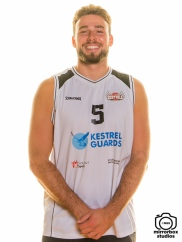 Solent Kestrels 08 10 2018 Player Profile Shots : (Photo by Nick Guise-Smith / MirrorBoxStudios)