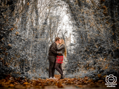 Danni & Tom 25 11 2018 Pre Wedding PhotoShoot : (Photo by Nick Guise-Smith / MirrorBoxStudios)