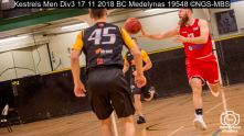 Kestrels Men Div3 17 11 2018 BC Medelynas : (Photo by Nick Guise-Smith / MirrorBoxStudios)