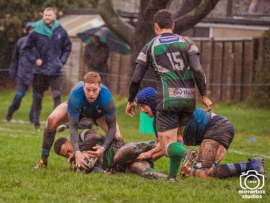 Tottonians v Chichester 15 12 2018 : (Photo by Nick Guise-Smith / MirrorBoxStudios)