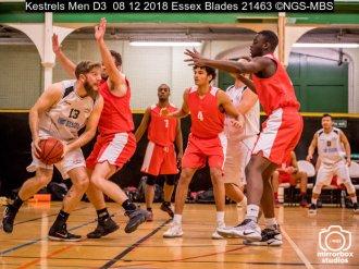 Kestrels Men D3 08 12 2018 Essex Blades : (Photo by Nick Guise-Smith / MirrorBoxStudios)