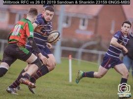 Millbrook RFC vs 26 01 2019 Sandown & Shanklin : (Photo by Nick Guise-Smith / MirrorBoxStudios)