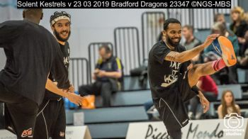 Solent Kestrels v 23 03 2019 Bradford Dragons : (Photo by Nick Guise-Smith / MirrorBoxStudios)