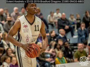 Solent Kestrels v 23 03 2019 Bradford Dragons : (Photo by Nick Guise-Smith / MirrorBoxStudios)