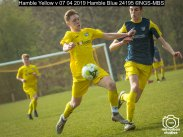 Hamble Yellow v 07 04 2019 Hamble Blue : (Photo by Nick Guise-Smith / MirrorBoxStudios)