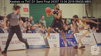 Kestrels vs TVC D1 Semi Final : (Photo by Nick Guise-Smith / MirrorBoxStudios)