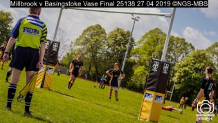 Millbrook v Basingstoke Vase Final : (Photo by Nick Guise-Smith / MirrorBoxStudios)