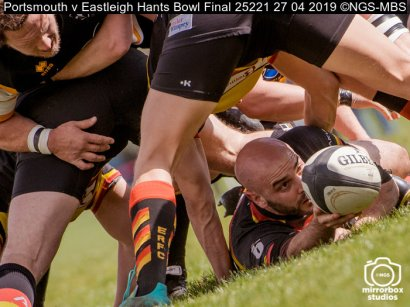 Portsmouth v Eastleigh Hants Bowl Final : (Photo by Nick Guise-Smith / MirrorBoxStudios)