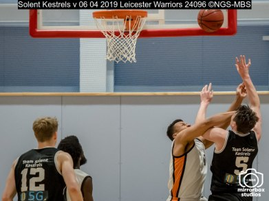 Solent Kestrels v 06 04 2019 Leicester Warriors : (Photo by Nick Guise-Smith / MirrorBoxStudios)