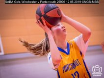 SABA Girls Winchester v Portsmouth : (Photo by Nick Guise-Smith / MirrorBoxStudios)
