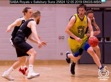 SABA Royals v Salisbury Suns : (Photo by Nick Guise-Smith / MirrorBoxStudios)
