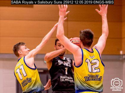 SABA Royals v Salisbury Suns : (Photo by Nick Guise-Smith / MirrorBoxStudios)