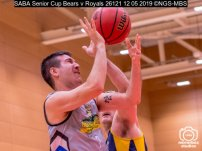 SABA Senior Cup Bears v Royals : (Photo by Nick Guise-Smith / MirrorBoxStudios)