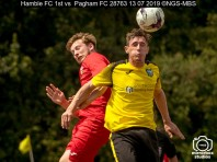 Hamble FC 1st vs Pagham FC : (Photo by Nick Guise-Smith / MirrorBoxStudios)