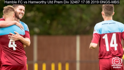 Hamble FC vs Hamworthy Utd Prem Div : (Photo by Nick Guise-Smith / MirrorBoxStudios)
