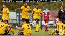 Hamble FC vs Hamworthy Utd Prem Div : (Photo by Nick Guise-Smith / MirrorBoxStudios)
