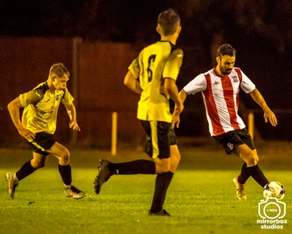 Hamble Res vs Sholing Res Wyvern League : (Photo by Nick Guise-Smith / MirrorBoxStudios)