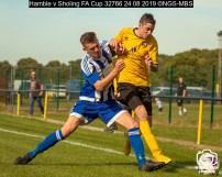 Hamble v Sholing FA Cup : (Photo by Nick Guise-Smith / MirrorBoxStudios)