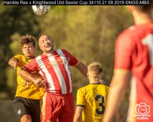 Hamble Res v Knightwood Utd Senior Cup : (Photo by Nick Guise-Smith / MirrorBoxStudios)