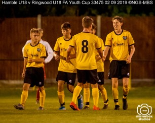 Hamble U18 v Ringwood U18 FA Youth Cup : (Photo by Nick Guise-Smith / MirrorBoxStudios)