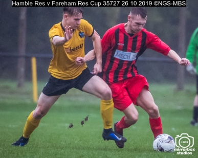 Hamble Res v Fareham Res Cup : (Photo by Nick Guise-Smith / MirrorBoxStudios)