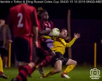 Hamble v Totton & Eling Russel Cotes Cup : (Photo by Nick Guise-Smith / MirrorBoxStudios)