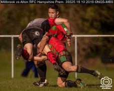Millbrook vs Alton RFC Hampshire Prem. : (Photo by Nick Guise-Smith / MirrorBoxStudios)