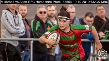 Millbrook vs Alton RFC Hampshire Prem. : (Photo by Nick Guise-Smith / MirrorBoxStudios)