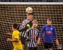 Hamble FC U18 v Wimborne FC U18 Hampshire Cup : (Photo by Nick Guise-Smith / MirrorBoxStudios)
