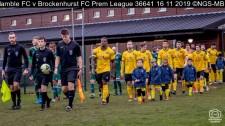 Hamble FC v Brockenhurst FC Prem League : (Photo by Nick Guise-Smith / MirrorBoxStudios)
