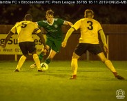 Hamble FC v Brockenhurst FC Prem League : (Photo by Nick Guise-Smith / MirrorBoxStudios)
