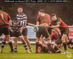 Millbrook vs Havant RFC Prem. : (Photo by Nick Guise-Smith / MirrorBoxStudios)