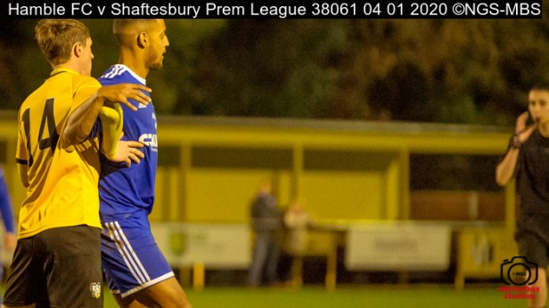 Hamble FC v Shaftesbury Prem League : (Photo by Nick Guise-Smith / MirrorBoxStudios)