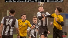 Hamble Res v Hedge End Town : (Photo by Nick Guise-Smith / MirrorBoxStudios)