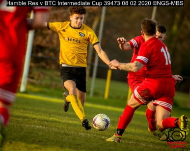 Hamble Res v BTC Intermediate Cup : (Photo by Nick Guise-Smith / MirrorBoxStudios)