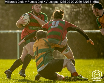 Millbrook 2nds v Pumas 2nd XV League : (Photo by Nick Guise-Smith / MirrorBoxStudios)