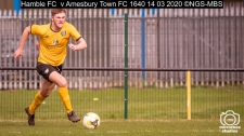 Hamble FC v Amesbury Town FC : (Photo by Nick Guise-Smith / MirrorBoxStudios)