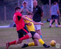 Hamble FC U23 vs Petersfield Town Res : (Photo by Nick Guise-Smith / MirrorBoxStudios)