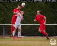 Hamble vs Follands FC PreSeason Friendly : (Photo by Nick Guise-Smith / MirrorBoxStudios)