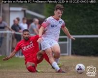 Hamble vs Follands FC PreSeason Friendly : (Photo by Nick Guise-Smith / MirrorBoxStudios)