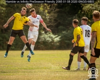 Hamble vs Infinity PreSeason Friendly : (Photo by Nick Guise-Smith / MirrorBoxStudios)