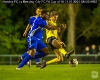 Hamble FC vs Reading City FC FA Cup 4118 01 09 2020 ©NGS-MBS