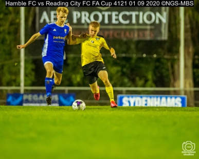 Hamble FC vs Reading City FC FA Cup 4121 01 09 2020 ©NGS-MBS